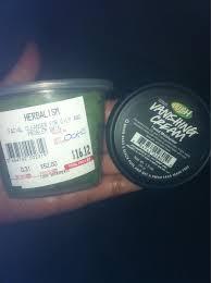 lush herbalism face wash vanishing cream moistur write a review