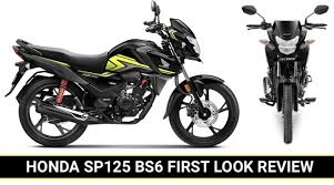 2020 honda sp 125 bs6 first look review