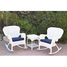 White patio furniture Aluminum Quickview Wayfair White Patio Conversation Sets Youll Love Wayfair