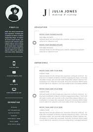 Free Unique Resume Templates Magnificent Modern Resume Template Free Templates For Word Beautiful Creative
