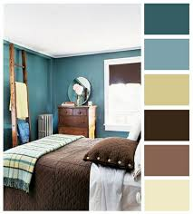 Bedroom Color Palettes Together With Amusing Exterior Theme
