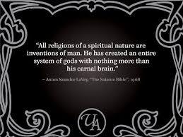 Satanic Bible Quotes Cool SATANIC ATHEISM Anton Lavey Satanic Bible Satanism Atheistic