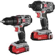 porter cable power tools. porter-cable pcck602l2 20v max lithium 2 tool combo kit porter cable power tools amazon.ca
