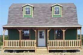 Small Picture Converted Barn with Side entry and full porch Lowes Barn Bldg