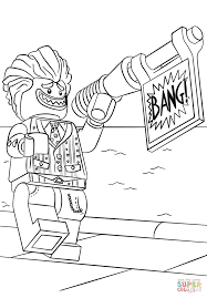 Small Picture Lego the Joker coloring page Free Printable Coloring Pages