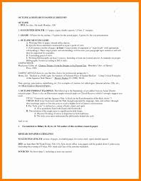 010 Research Paper In Mla Format Unique Sample Pages Style Of For