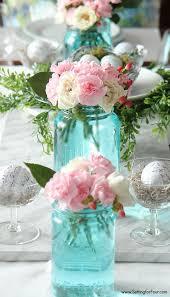 Blue Mason Jars Wedding Decor Awesome Mason Jars Wedding Decorations Images Styles Ideas 88