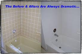reglaze bathtub cost resurface tile and tub banda done to mesmerizing design ideas
