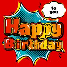 happy birthday design cartoon styles happy birthday design vector 02 vector background