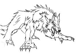 Small Picture Werewolf Coloring Pages GetColoringPagescom