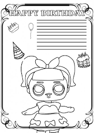 I started making them already when the kids were too young to be able to read. Happy Birthday Coloring Card New Collection 2020 Free Printable