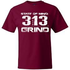 Grind 313 Mens Hanes Beefy T Shirt Products Men Mens