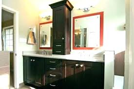 countertop cabinets for the bathroom bathroom counter cabinets storage tower dark with white countertop cabinets bathroom countertop cabinets