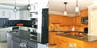 painting old kitchen cabinets white nice painted before and after can you paint metal full size