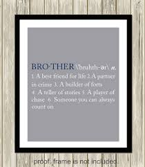 brother definition brothers wall art sisters wall art sister definition sisters shared room decor custom colors on brothers wall art quotes with 14 best brothers and sisters wall art images on pinterest playroom