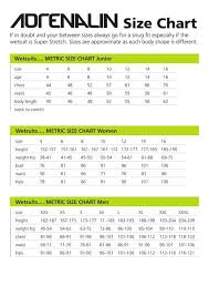 Size Guides Adreno Spearfishing
