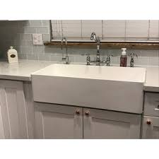 vigo farmhouse sink. VIGO 36\u0026quot; Handmade Matte Stone Farmhouse Apron Front Kitchen Sink Vigo 3
