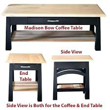 bordeaux coffee table coffee table bow coffee table oak or cherry table hardwoods park coffee table