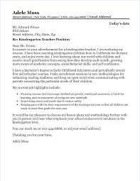 cover letter exles for teachers
