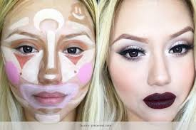 70s makeup tutorial for clown contouring now unveiled