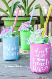 Beach Koozie Designs Custom Can Koozies Create Craft Love