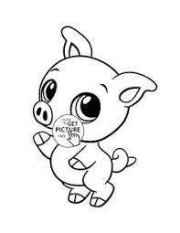 Small Picture Funny Farm Animals coloring page for kids animal coloring pages