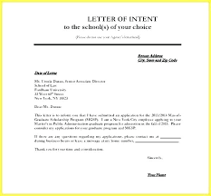 Letter Of Intent Template Uk