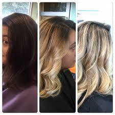 orange hair from highlights
