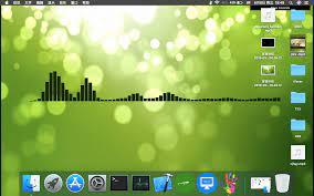 Mac video + audio visualization dynamic ...