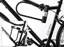 via velo premium bike lock stacksocial
