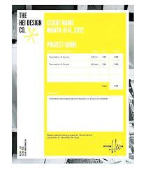 Designer Invoice Template Graphic Design Invoice Format – Europcars.club