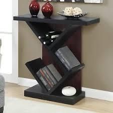 black console table decor.  Console Image Is Loading BlackConsoleTableShelvesSideSofaHallwayDisplay To Black Console Table Decor
