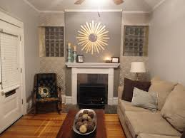 living room accent wall decor ideas white