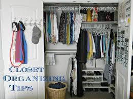closet organizer ideas for bedroom home storage organization