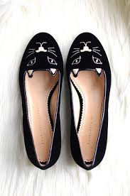 charlotte olympia kitten flats meow fashion look