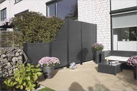 Sichtschutz Fur Terrasse Mit Granit Und Glas Suerre