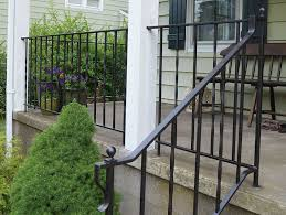 how to update and refinish old iron rails painting stairswrought iron railingterior