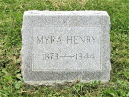 Myra Louise Preston Henry (1873-1944) - Find A Grave Memorial