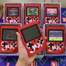 SUPREME x GAMEBOX 400 IN 1PLUS (4 game hot tuổi thơ)(Máy chơi game 4 nút  cầm tay)