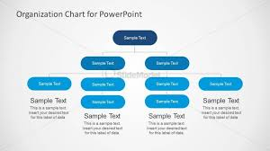 Org Chart Powerpoint Slide Functional Organizational Chart For Powerpoint Slidemodel