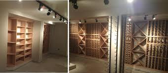 Wine room lighting Wall Mounted Shawn Li Lighting Blue Grouse Wine Cellar Shawn Li Lighting Blue Grouse Wine Cellar