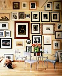 ... Hanging Few Wall Art Arrangement Ideas Pieces On Creates A  Sophisticated Layered Look Iron Decoration Chair ...