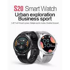 Đồng hồ thông minh Uonevic S20, màn hình cảm ứng dài 1.28 inch, chống nước  IP67 hỗ trợ Android/IOS Huawei - INTL