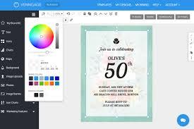 Printable colored stripes birthday invitation. 10 Creative Birthday Invitation Card Design Tips Templates Venngage