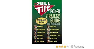 Andy Bloch Poker Chart The Full Tilt Poker Strategy Guide Tournament Edition Andy