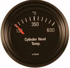 vdo 600f cylinder head temperature (cht) gauge, cockpit, black face VDO Tach Wiring vdo 600f cylinder head temperature (cht) gauge, cockpit, black face, 2