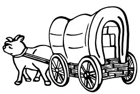 black and white covered wagon. pin pioneer clipart wagon #11 black and white covered