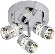 led bathroom ceiling spotlight plate ip44