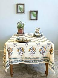 french country tablecloth french country tablecloth wild poppies french country orange yellow botanical tablecloth saffron marigold french country