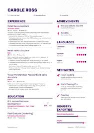 Sales Associate Resume 8 Retail Sales Associate Resume Samples And Writing Guide
